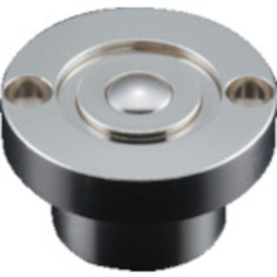 トラスコ中山 プレインベア スプリング付 上向き・下向き兼用 スチール製 PV50CF PV50CF