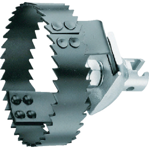 トラスコ中山 ローデン ダブルソー65 φ22mmワイヤ用 R72265