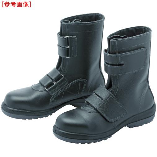 トラスコ中山 ミドリ安全 ラバーテック安全靴 長編上マジックタイプ RT73526.0