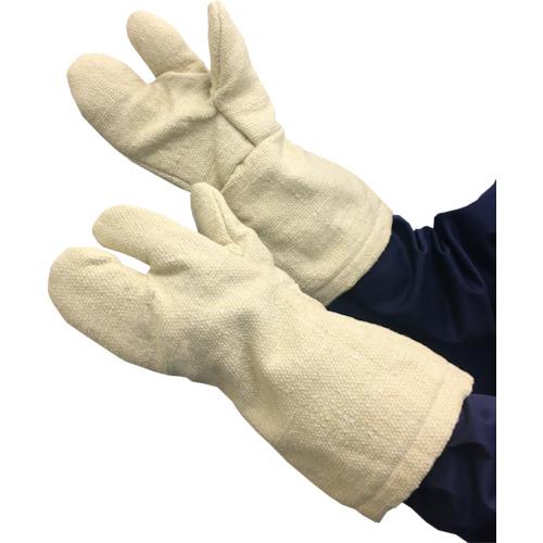 トラスコ中山 TRUSCO 生体溶解性セラミック耐熱手袋 3本指タイプ TCAT3A