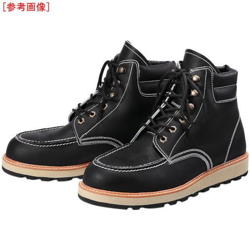 トラスコ中山 青木安全靴 US-200BK 24.0cm US200BK24.0