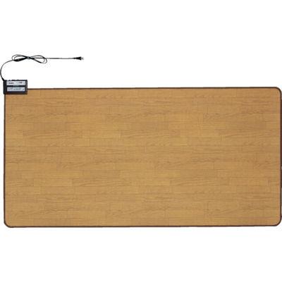 トラスコ中山 ワタナベ 木目ホットカーペット 1畳 WHC102KMD
