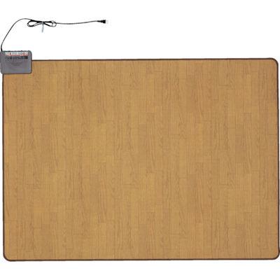 トラスコ中山 ワタナベ 木目ホットカーペット 1.5畳 WHC152KMD