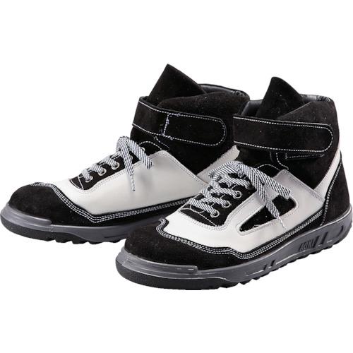 トラスコ中山 青木安全靴 ZR-21BW 25.0cm ZR21BW25.0