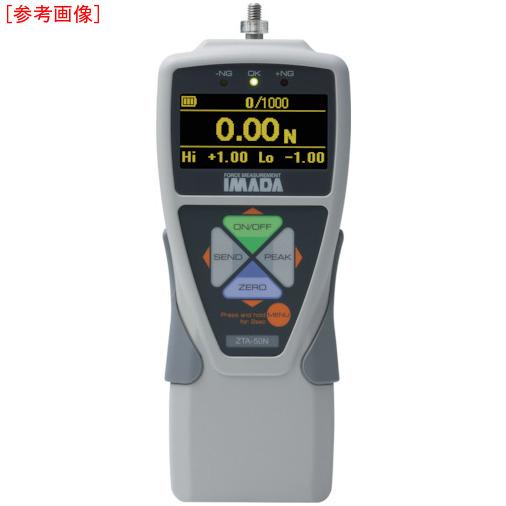トラスコ中山 イマダ 標準型デジタルフォースゲージ(多機能タイプ) 使用最大荷重500N ZTA500N
