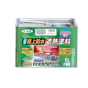 その他 水性屋上防水遮熱塗料 ライトグレー 5L ds-1853808