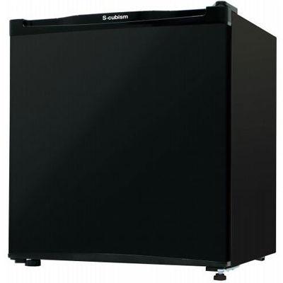 エスキュービズム 1ドア冷凍庫 32L ブラック WFR-1032BK
