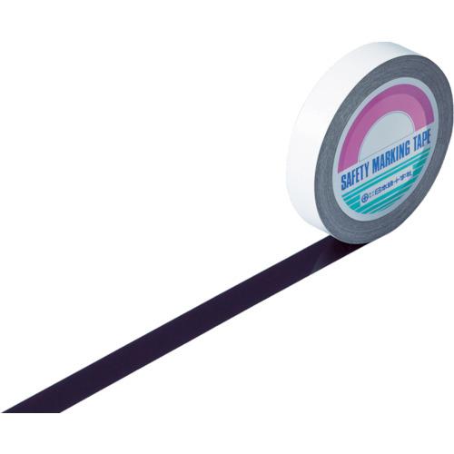 トラスコ中山 緑十字 ガードテープ(ラインテープ) 黒 25mm幅×100m 屋内用 1480177047