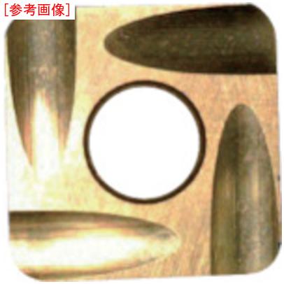 トラスコ中山 【12個セット】富士元 フェイス加工用Sタイプ精密級チップ 超硬K種 TiAlN NK8080 S32GUR5003NK8080