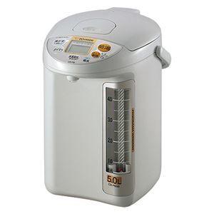 その他 【ZOJIRUSHI】 マイコン沸とう電動給湯ポット/湯沸かしポット 【5L】 大容量 省エネ設計 給水お知らせブザー【代引不可】 ds-1820495