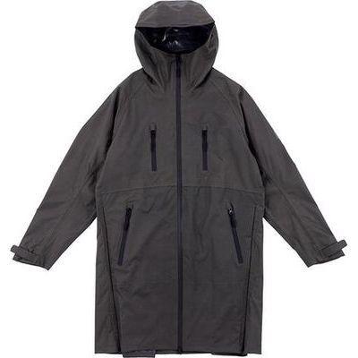 kiu(キウ) マルチ ファンクショナル レインジャケット グレー フリーサイズ FF-00945
