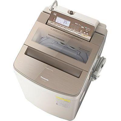 パナソニック 洗濯乾燥機 (洗濯10.0kg/乾燥5.0kg) (ブラウン) NA-FW100S6-T