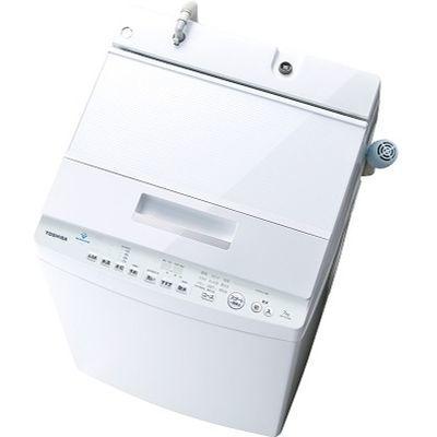 東芝 7.0kg 全自動洗濯機 ZABOON(グランホワイト) AW-7D7-W