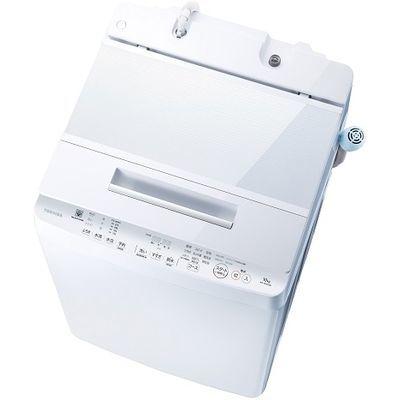 東芝 10.0kg 全自動洗濯機ZABOON (グランホワイト) AW-10SD7-W【納期目安:2週間】
