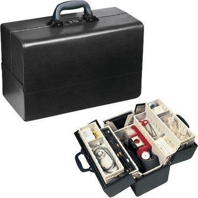 その他 往診鞄 コンチェルティナ サイズ:W430×D210×H270mm 23-2283-00【納期目安:1週間】