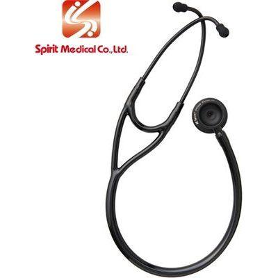 スピリット・メディカル社 聴診器 カーディーDX(ブラックコート) カラー:ブラック 4535847001591