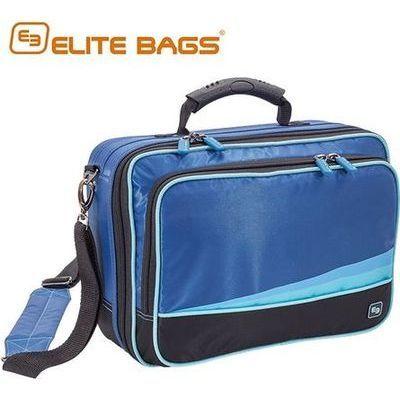 エリートバッグ社 メディカルバッグ コミュニティ サイズ:W350×D140×H255mm カラー:ブルー CS-00877103