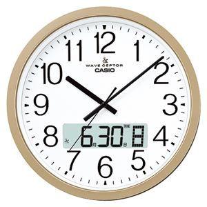その他 カシオ 電波クロック 掛時計 IC-4100J-9JF ds-2046384