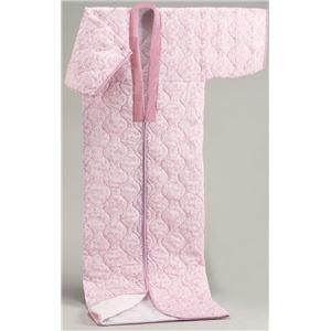 その他 【日本製】国産かいまきふとんピンク系 シングル 綿100%ガーゼ【代引不可】 ds-2056824