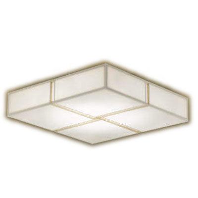 コイズミ 和風シーリング(LED[電球色+昼光色]~6畳) AH48754L
