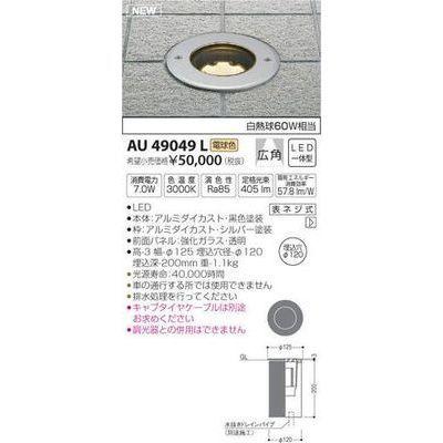 コイズミ バリードライト(LED[電球色]) AU49049L