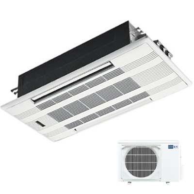 三菱電機 シングルエアコン 2方向天井カセット形 Wシリーズ (単相200V) (主に18畳用) (ホワイトパネル付き) MLZ-W5617AS-W