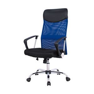 その他 オフィスデポ オリジナル メッシュタイプオフィスチェア Mosil(モシル) 色:ブルー 1脚 ds-2055182