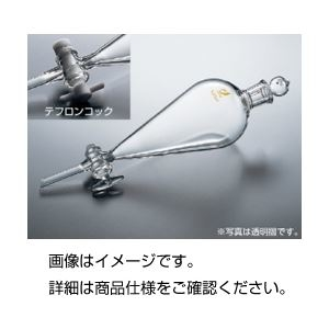 その他 スキーブ型分液ロート 200ml(透明ずり) ds-1598392