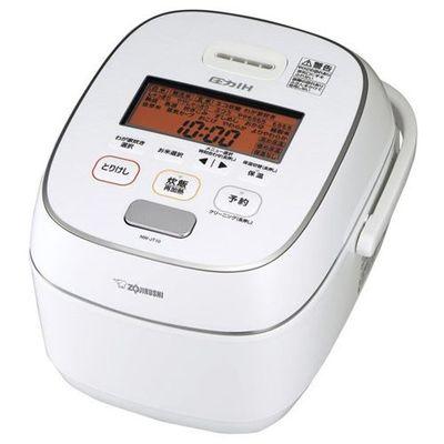 象印 極め炊き 5.5合 圧力IH炊飯器 (ホワイト) NW-JT10-WA【納期目安:約10営業日】