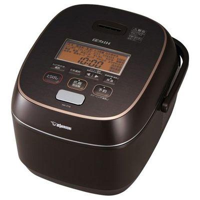 象印 極め炊き 1升 圧力IH炊飯器 (ブラウン) NW-JT18-TA【納期目安:約10営業日】