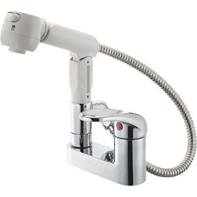 SANEI シングルスプレー混合栓 K37100V 13 K37100V-13