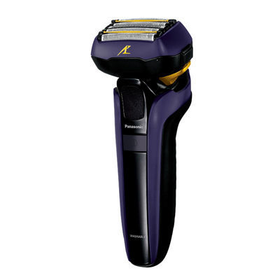 パナソニック メンズシェーバー ラムダッシュ(5枚刃)全自動洗浄充電器付 (青) (ESLV7DA) ES-LV7D-A