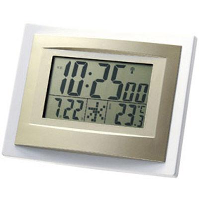 その他 【28個セット】スタイリッシュ インテリア電波時計 MRTS-31757