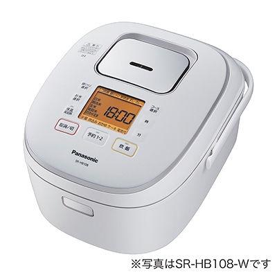 パナソニック 1升 IHジャー炊飯器(ホワイト) SR-HB188-W【納期目安:3週間】