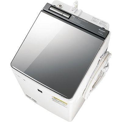 シャープ 縦型洗濯乾燥機 (洗濯11.0kg/乾燥6.0kg) シルバー系 ES-PU11C-S【納期目安:3週間】