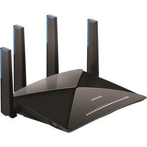 その他 NETGEAR Inc. Nighthawk X10 R9000802.11ac/802.11ad(4600+1733+800Mbps)スマートWiFiルーター ds-2068077