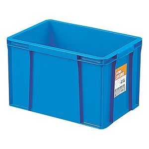 その他 【12セット】 ホームコンテナー/コンテナボックス 【HC-24B】 ブルー 材質:PP 〔汎用 道具箱 DIY用品 工具箱〕【代引不可】 ds-2043682