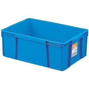 その他 【6セット】 ホームコンテナー/コンテナボックス 【HC-44B】 ブルー 材質:PP 〔汎用 道具箱 DIY用品 工具箱〕【代引不可】 ds-2043686