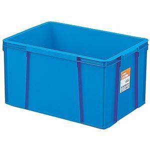 その他 【6セット】 ホームコンテナー/コンテナボックス 【HC-64B】 ブルー 材質:PP 〔汎用 道具箱 DIY用品 工具箱〕【代引不可】 ds-2043687