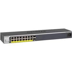 その他 NETGEAR Inc. GS418TPP 【ライフタイム保証】 イージーマウント PoE+(240W) ギガ16P L2+スマートスイッチ ds-2068063