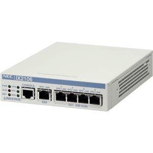 その他 NEC 5年無償保証 VPN対応高速アクセスルータ UNIVERGE IX2106 ds-2068245