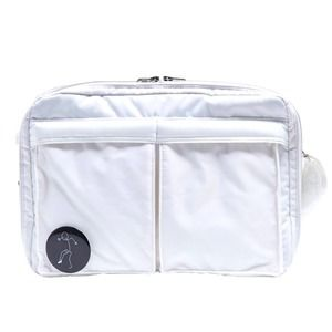その他 斜めかけにぴったり♪ポケットいっぱいのビジネスバッグ仕様のバッグ/アイボリー ds-2073284
