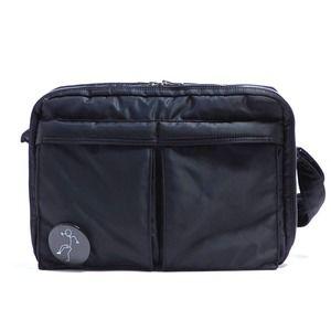 その他 斜めかけにぴったり♪ポケットいっぱいのビジネスバッグ仕様のバッグ/ブラック ds-2073285