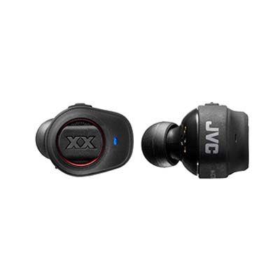 ビクター 完全ワイヤレスステレオヘッドセット『XXシリーズ』(Bluetooth対応)(重低音)(12時間再生)(レッド) HA-XC70BT-R