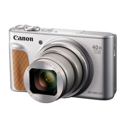 キヤノン コンパクトデジタルカメラ PowerShot SX740 HS (シルバー) PSSX740HS-SL