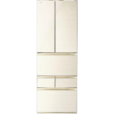 東芝 509L 冷凍冷蔵庫 6ドア 「VEGETA (べジータ)」 (フレンチ両開き) (ラピスアイボリー) GR-P510FW-ZC【納期目安:3週間】