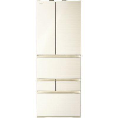 東芝 551L 冷凍冷蔵庫 6ドア 「VEGETA (べジータ)」 (フレンチ両開き) (ラピスアイボリー) GR-P550FW-ZC【納期目安:2週間】