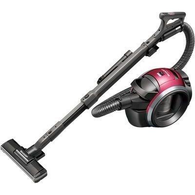 シャープ キャニスター型 サイクロン式掃除機 ピンク系 EC-MS310-P【納期目安:2週間】