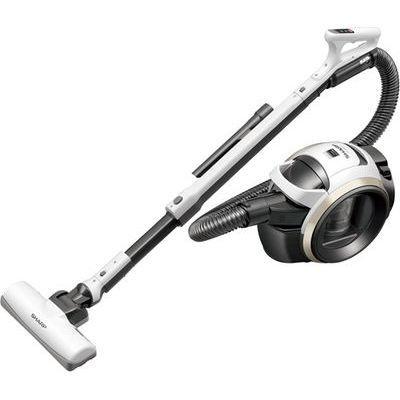 シャープ キャニスター型 サイクロン式掃除機 ホワイト系 EC-MS21T-W【納期目安:1ヶ月】