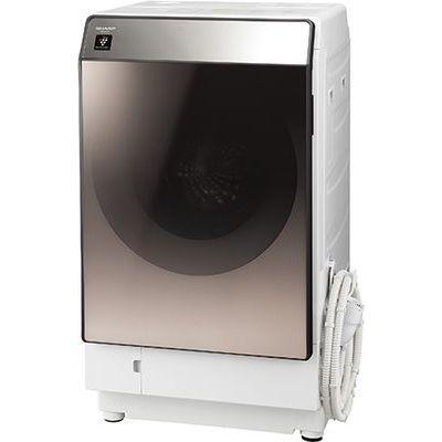 シャープ ドラム式洗濯乾燥機 洗濯11.0kg/乾燥6.0kg ブラウン系 (左開き) ES-U111-TL【納期目安:3週間】